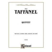 TAFFANEL P. Qintette pour instruments à vent