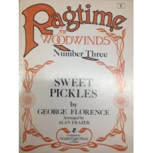 FLORENCE G. Sweet Pickles - Ragtime N.3 for Woodwinds