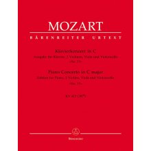 MOZART W.A. Piano Concerto C major KV415