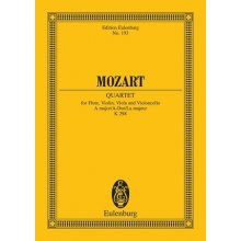 MOZART W.A. Quartet for Flute, Violin, Viola and Violoncello KV298