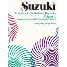 SUZUKI String Quartets for Beginning Ensembles 2