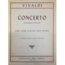 VIVALDI A. Concerto in B minor n.10