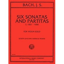 BACH J.S. Six Sonatas and Partitas S.1001-1006