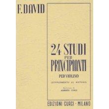 DAVID F. 24 Studi per principianti