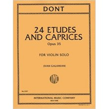 DONT J. 24 Etudes and Caprices Op.35 (Galamian)
