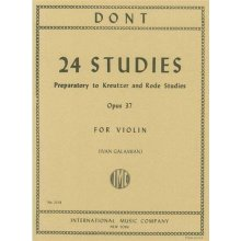 DONT J. 24 Studies Op.37 (Galamian)