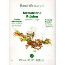 ENTEZAMI R. Studi Melodici per Violino 1