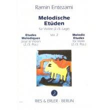 ENTEZAMI R. Studi Melodici per Violino 2