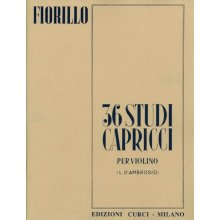 FIORILLO F. 36 Studi Capricci per Violino