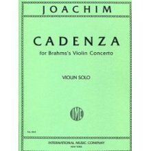 JOACHIM J. Cadenza for Violin solo