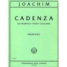 JOACHIM J. Cadenza for Violin solo