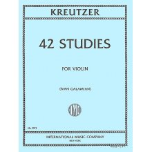 KREUTZER R. 42 Studies for Violin (Galamian)