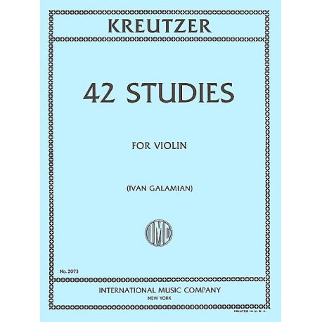 KREUTZER R. 42 Studies for Violin (Galamian)