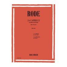 RODE J. 24 Capricci in forma di Studio(Borciani)