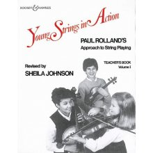 ROLLAND P. Young Strings in Action 1 (teacher's book)