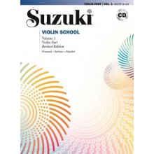 SUZUKI S. Violin School (Violin Part 1 +CD)