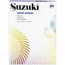 SUZUKI S. Violin School (Violin Part 4 +CD)