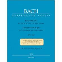 BACH J.S. Konzert in E-Dur BWV1042