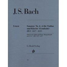 BACH J.S. Sonaten fur Violine und Klavier 4-6