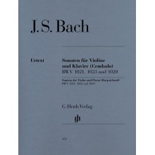 BACH J.S. Sonaten fur Violine und Klavier BWV1021, 1023, 1020