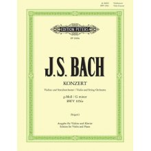 BACH J.S. Violin-Konzert G-moll