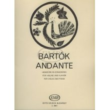 BARTOK B. Andante for Violin and Piano