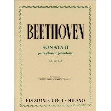 BEETHOVEN L.van Sonata Op.12 n.2