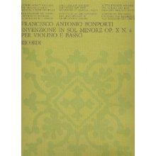 BONPORTI F.A. Invenzione in Sol Minore op.10 n.4
