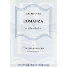 CURCI A. Romanza per Violino e Pianoforte