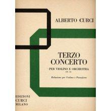 CURCI A. Terzo Concerto per Violino e Orchestra op.33