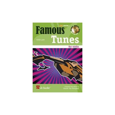 DE HASKE Famous Tunes for Violin 1