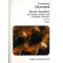 GIORDANI T. Sonata Op.IVa Heft II