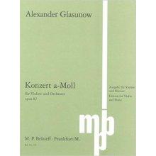 GLASUNOW A. Konzert a-Moll op.82