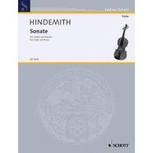 HINDEMITH P. Sonate fur Violine und Klavier