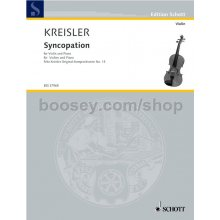 KREISLER F. Syncopation No.13