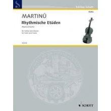 MARTINU B. Rhythmische Etuden fur Violine und Klavier