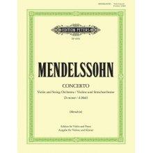 MENDELSSOHN F. Concerto D minor (Menuhin)