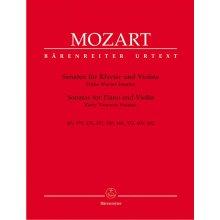 MOZART W.A. Sonaten fur Klavier und Violine I