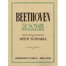 BEETHOVEN L.van 32 Sonate per Pianoforte vol.II (Schnabel)