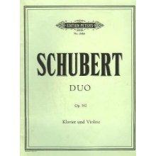 SCHUBERT F. Duo Op.162 Klavier und Violine