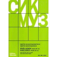 SHOSTAKOVICH D. Preludes from Op.34