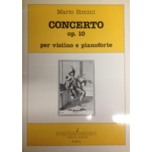 SIMINI M. Concerto op.10 per violino e pianoforte