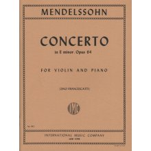 MENDELSSOHN F. concerto in E minor Op.64
