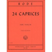 RODE J. 24 Caprices for Violin (Galamian)