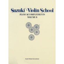 SUZUKI Violin School Piano Accompaniments Vol.B