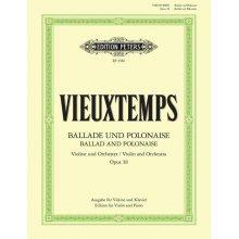 VIEUXTEMPS H. Ballade und Polonaise Op.38