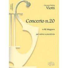 VIOTTI G. Concerto N.20 in Re Maggiore (Corti)