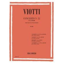 VIOTTI G. Concerto n.22 in La minore
