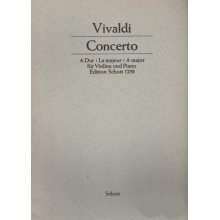 VIVALDI A. Concerto A-Dur for Violin and Piano