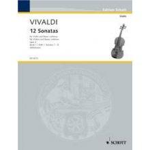 VIVALDI A. 12 Sonatas Op.2 (1-6)